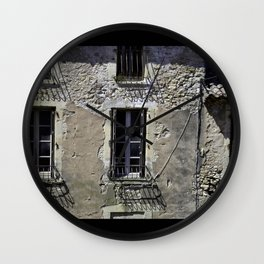 In France, by the window. Wall Clock