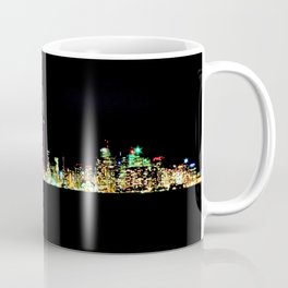 Toronto Skyline At Night From Centre Island Coffee Mug