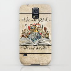 The World Is A Book Galaxy S5 Slim Case