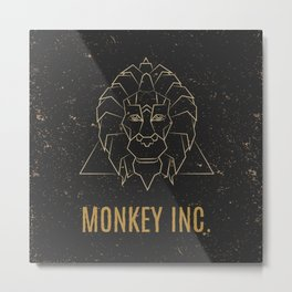 Monkey INC.  Metal Print