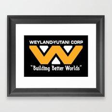 Weyland-Yutani Corporation Framed Art Print
