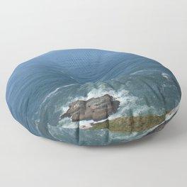 currents Floor Pillow