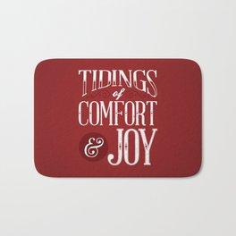 Tidings of Comfort & Joy Bath Mat
