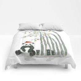 Christmas Panda Comforters