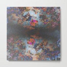 Pixelated Metal Print