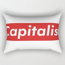 Capitalist Box Logo Rectangular Pillow