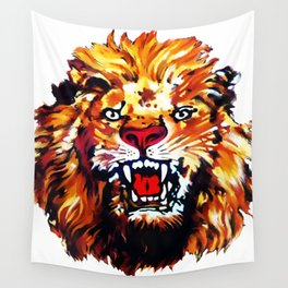 Lion of Igbo  Wall Tapestry