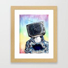 Mindless Entertainment Framed Art Print