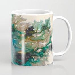 Listen - Mixed media ink painting Coffee Mug