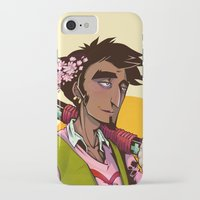 law iPhone & iPod Cases featuring Law by Ida Dobnik