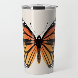 Monarch Butterfly | Vintage Butterfly | Travel Mug