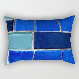 Blue Hues Rectangular Pillow