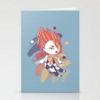 kuroshitsuji Stationery Cards featuring Kuroshitsuji: Little Joker by El Cadejos