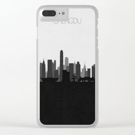 City Skylines: Chengdu Clear iPhone Case