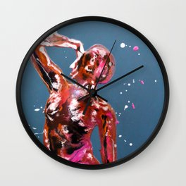 Side Stretch Wall Clock