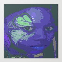 Indie Blue Canvas Print