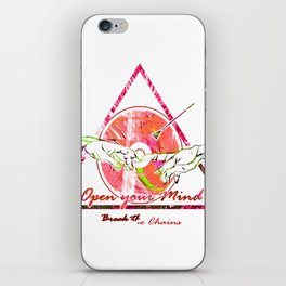 Sistine Touch iPhone Skin