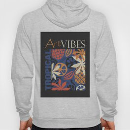 Tropical Art Vibes Hoody