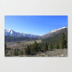 Sonora Pass Canvas Print