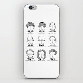 The Architectural Dream Team iPhone Skin