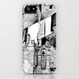 Sassi di Matera: laundry iPhone Case