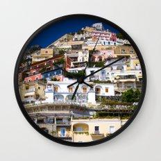 Positano Italy Wall Clock