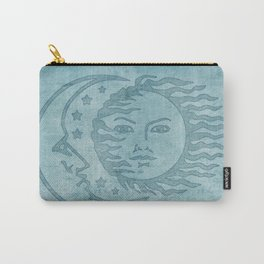 Sun Moon And Stars Batik Carry-All Pouch