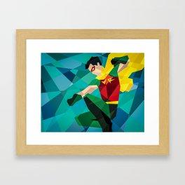 DC Comics Robin Framed Art Print