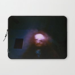 Kharmic Book Series.; 03.; Painting Tired Eyes.; Lions Tale Or Broom Stick? Laptop Sleeve