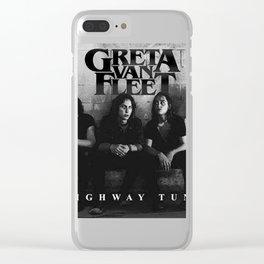 GRETA VAN FLEET #2 Clear iPhone Case