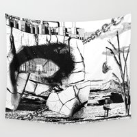 pittsburgh Wall Tapestries featuring PITTSBURGH, PENNSYLVANIA by Alberto Matsumura