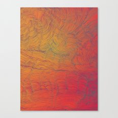 Auric Waves Canvas Print