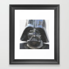 Darth Vader - StarWars - Pantone Swatch Art Framed Art Print