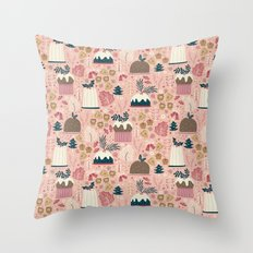 Holiday Delights Throw Pillow