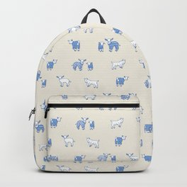 Goat Pajama Party Backpack