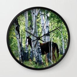 Aspen Legend Wall Clock