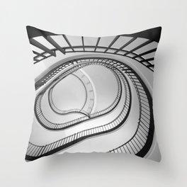 urban splines Throw Pillow
