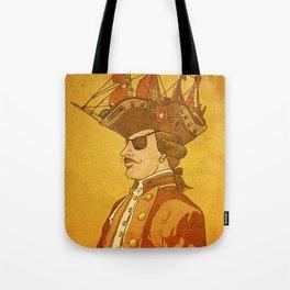 The Pirate's Head Tote Bag