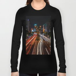 Naha Traffic in Color Long Sleeve T-shirt