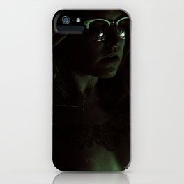 Suicide Witch in Critique II iPhone Case