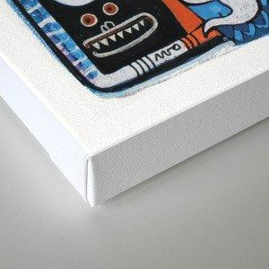 Instant drôlatique  Canvas Print