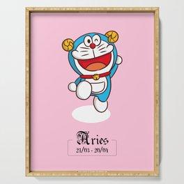 Doraemon Zodiac - Aries Serving Tray