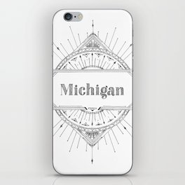 Art Deco Michigan iPhone Skin
