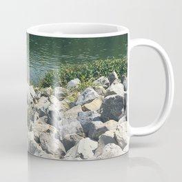 Rocks by the Lake Coffee Mug