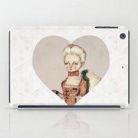 marie antoinette iPad Cases featuring Marie Antoinette by Maripili