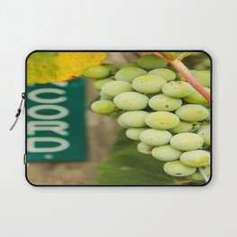 Green Concord Grapes Laptop Sleeve
