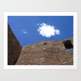 Chaco Canyon Summer Solstice Art Print