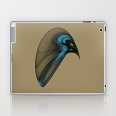 Fractal Bird with Sharp Beak Laptop & iPad Skin