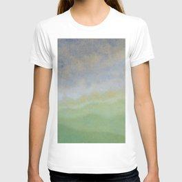 Informal texture three T-shirt