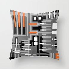 Geometric v1 Throw Pillow